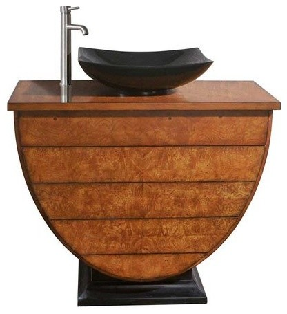 "Avanity Legacy 40"" Vanity Only Golden Burl Finish"