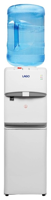 Lago Top Load Hot, Cold And Room Mini Water Cooler Dispenser.
