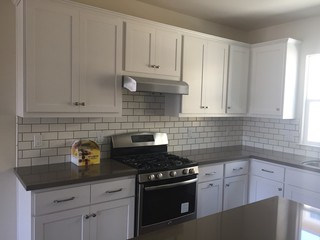 Subway Tile Backsplash 1 2 Or 1 3 Offset