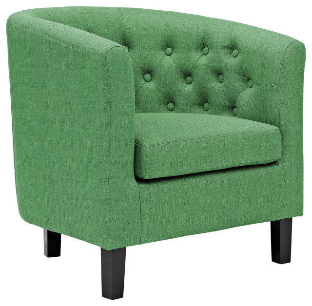 Kelly Green Prospect Upholstered Fabric Armchair