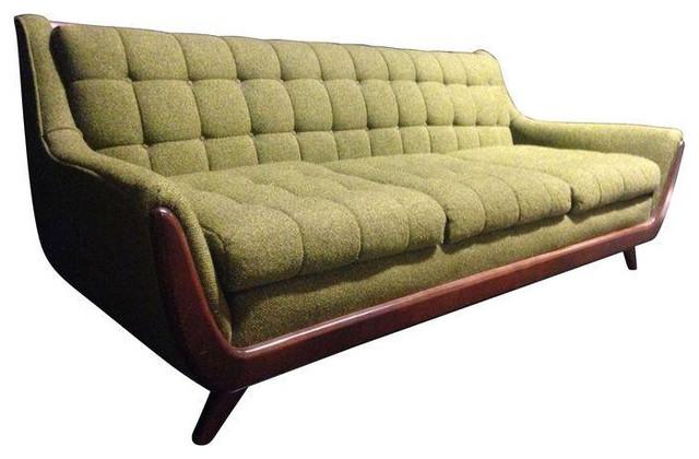 Adrian Pearsall Green Sofa