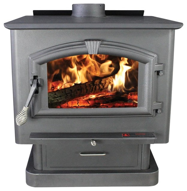 Extra Large Wood Stove contemporary-freestanding-stoves - Extra Large Wood Stove - Contemporary - Freestanding Stoves - By