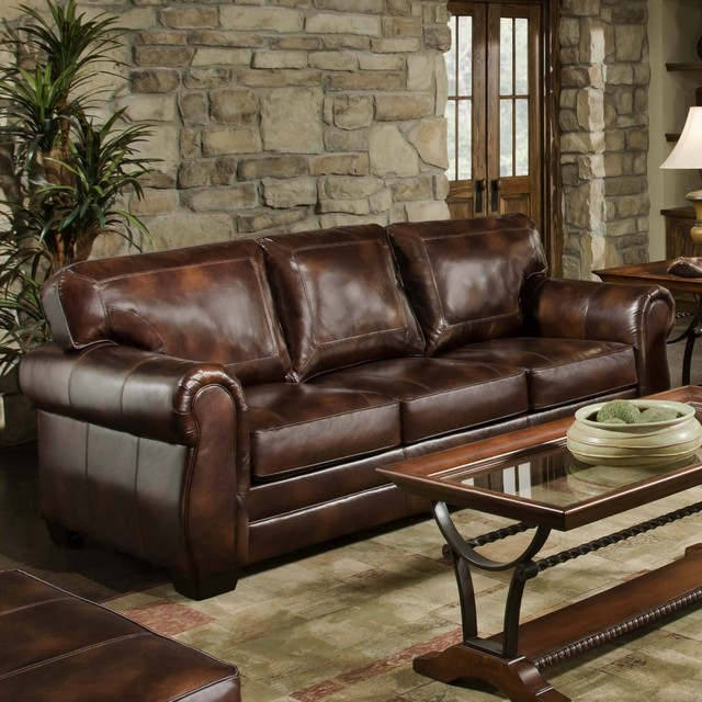 Remarkable Simmons Leather Sofa And Loveseat Home And Textiles Creativecarmelina Interior Chair Design Creativecarmelinacom