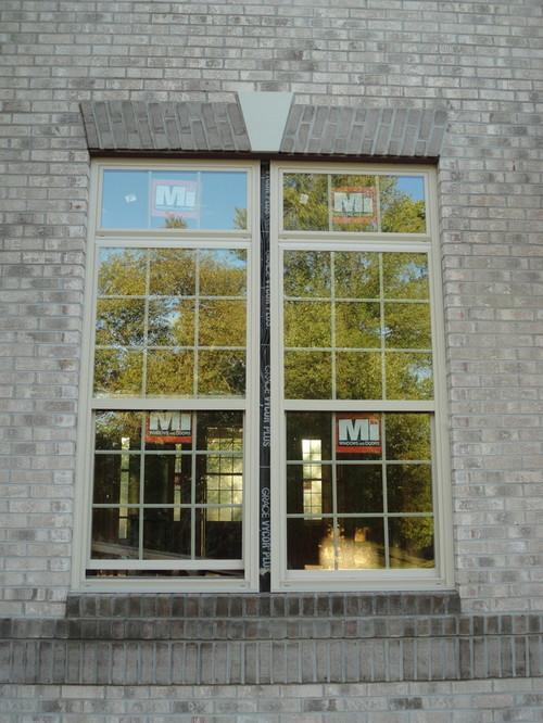 Tan Vinyl Windows : Beige tan almond vinyl windows