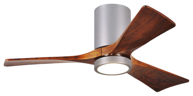 Matws Fan Company Ir3hlk-Bn-Wa-60 Indoor Ceiling Fan Brushed Nickel.