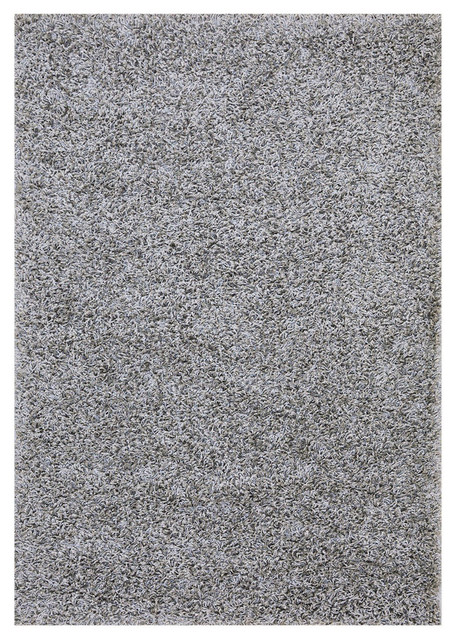 Our Space Collection Solid Color Area Rug Gray