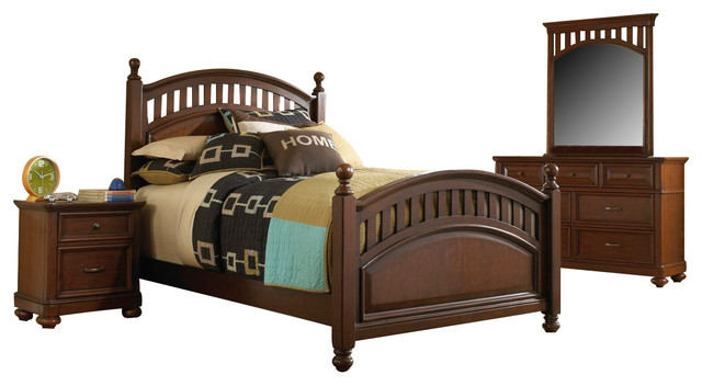 Samuel Lawrence Expedition Bedroom Set With Twin Bed