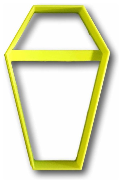 """Coffin Outline Cookie Cutter, 1""""."""