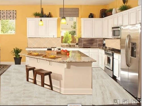 Kitchen Tile Flooring Dark Cabinets. Dark For Kitchen Tile Flooring Dark  Cabinets D