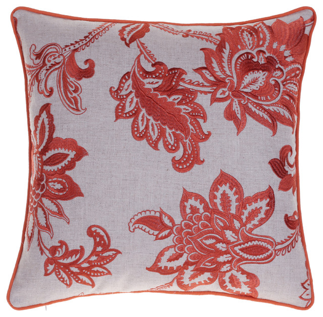 Embroidered French Country Throw Pillow Contemporary Decorative Stunning French Country Decorative Pillows