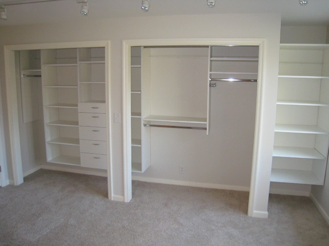 Reach In Closet System By Closets For Life Traditional