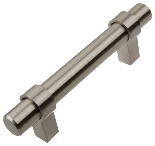 GlideRite Hardware 4 12 Solid Euro Bar Pull Traditional