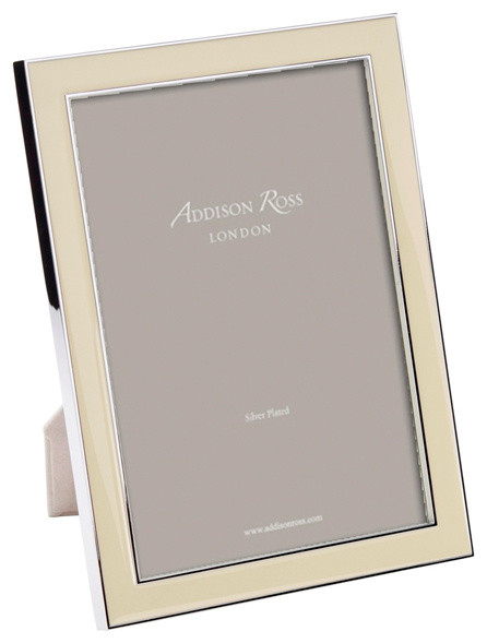 addison ross vanilla enamel picture frame 4x6 contemporary picture frames - Enamel Picture Frames