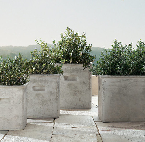 this is the related images of Restoration Hardware Planters