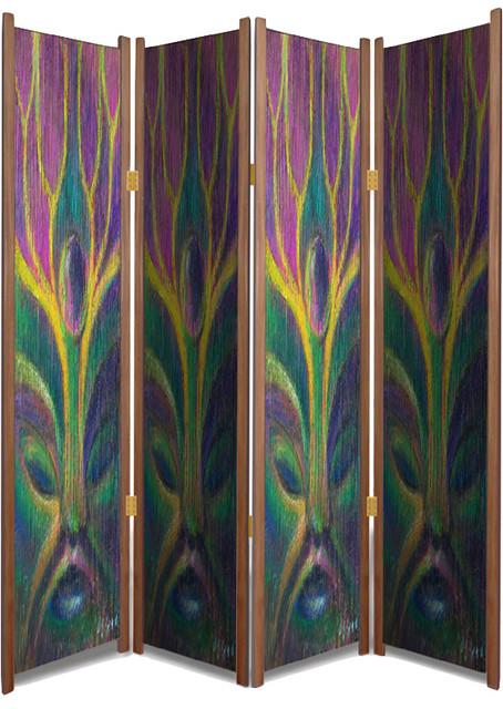 Germination Art Print Folding Room Divider By Daniel Wend