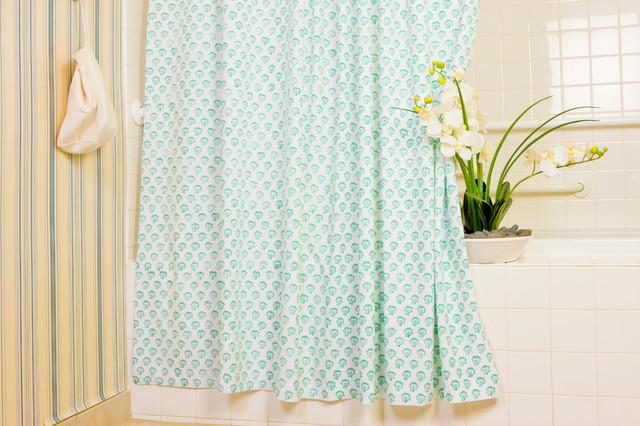 Bathroom Shower Curtains. Beige Blue Modern Shower Curtain 15 Pcs ...