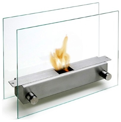 Carl Mertens Apollo Tabletop fireplace modern fireplaces