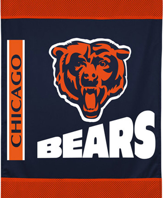 Chicago Bears Wall Art nfl chicago bears football team logo wall hanging accent