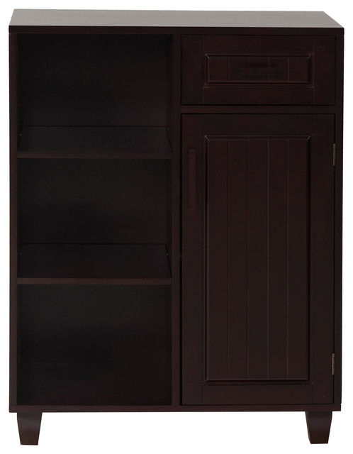 Catalina Floor Cabinet With One Door One Drawer And Three