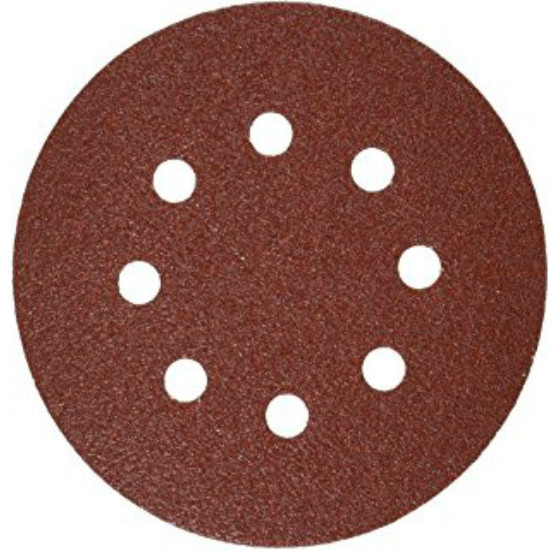 Gator 4347 Hook And Loop Sanding Disc, 8 Hole, 5.