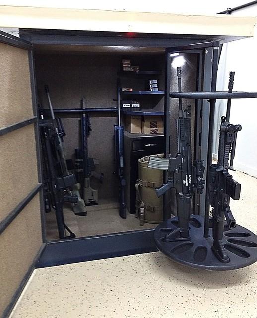 Gun safes for Underground gun vault
