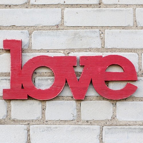 Love Sign by William Dohman modern accessories and decor