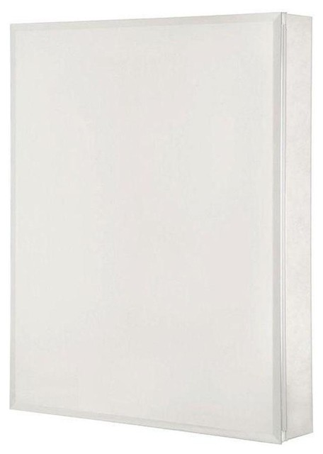 Pegasus 24 In. X 30 In. Recessed Or Surface Mount Medicine Cabinet In Silver