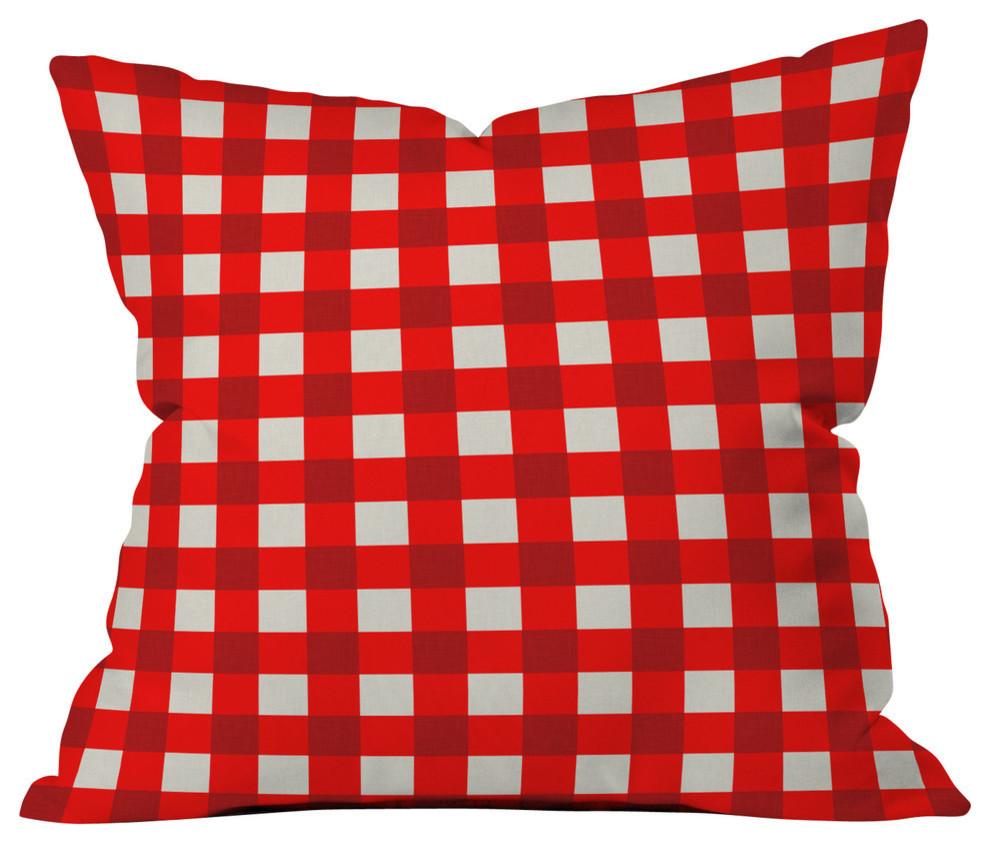 Deny Designs Holli Zollinger Diamond Weave Outdoor Throw Pillow 16 x 16