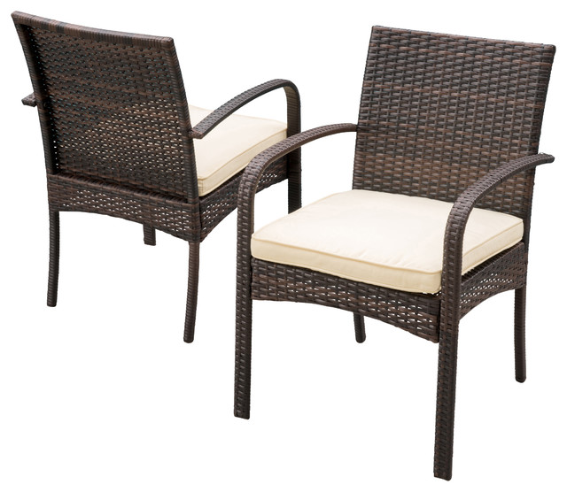 GDFStudio   Carmela Outdoor Dining Chairs, Set Of 2   Outdoor Dining Chairs