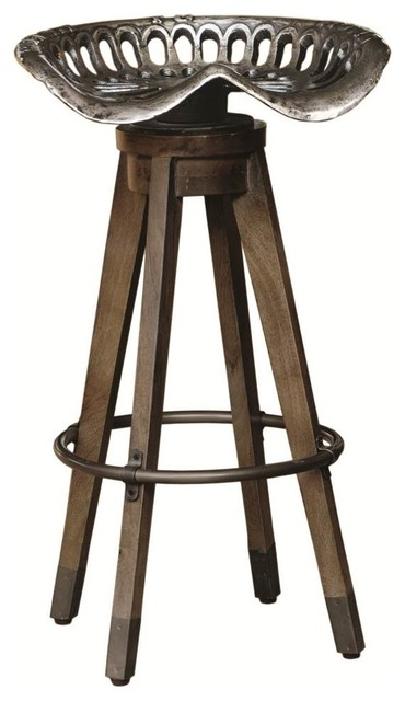 Swivel Antique Tractor Seat Bar Stool.