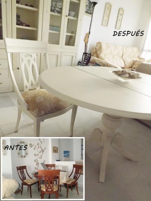sillas de salón clásicas Hazlo T Mismo Qutale 20 Aos A Una Mesa Clsica Y Sus Sillas