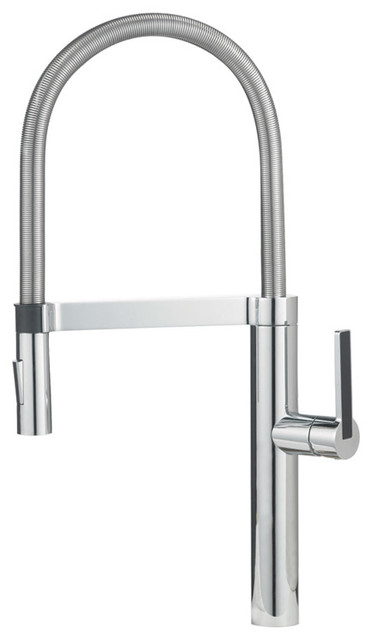 Blanco  Culina  Handle High Arc Kitchen Faucet Chrome