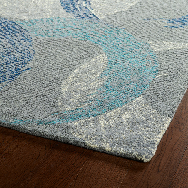 Kaleen Hand Tufted Montage Collection Rug, 8&x27;x10&x27;.