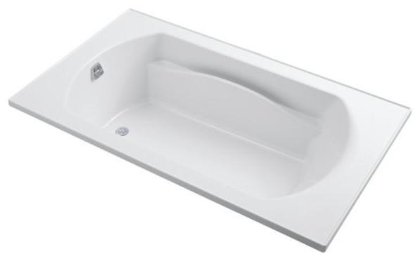 """Sterling  Lawson 72""""x42"""" Vikrell Bathtub, White."""
