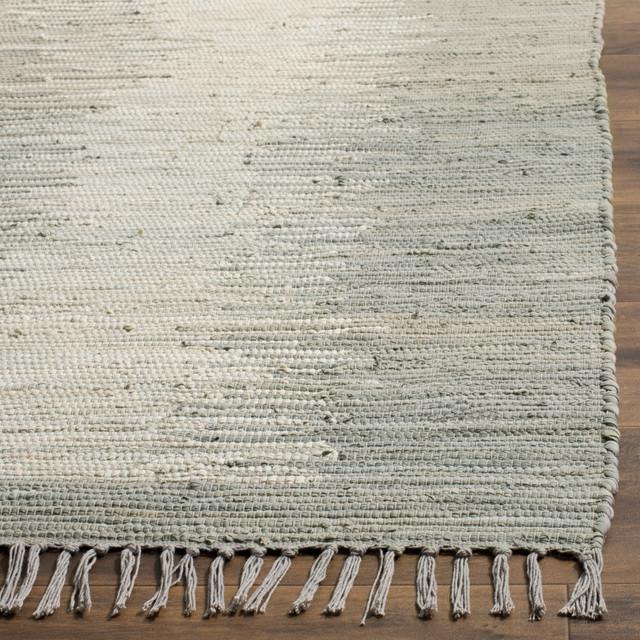 Safavieh Montauk Flatweave Rug, Gray, 8&x27;x10&x27;.