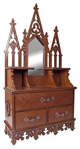Victorian Medicine Cabinet.