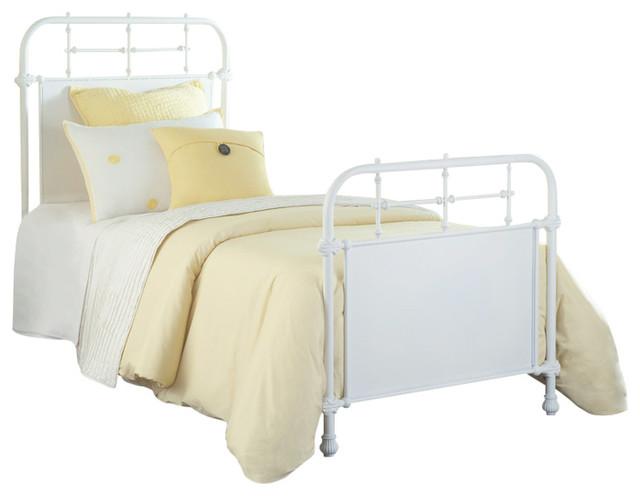 Kensington Bed Set With Rails, Twin.