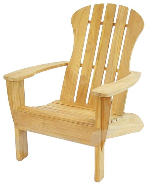 Adirondack Lounge Chair Transitional Adirondack Chairs By