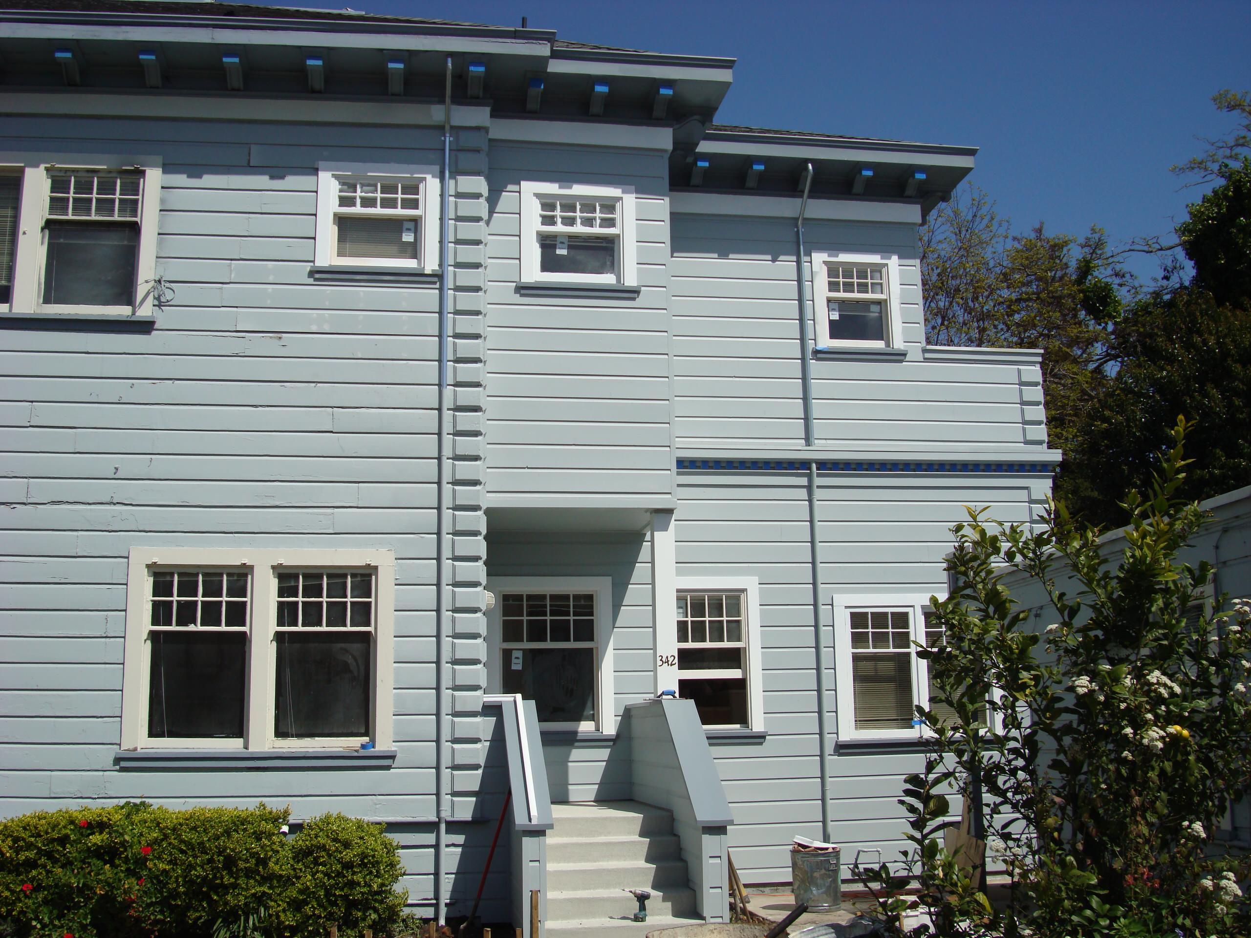 Eben Bennett House Fire Restoration