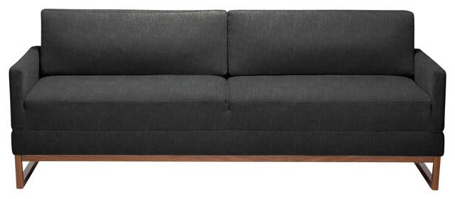 Blu Dot The Diplomat Sleeper Sofa, Coal