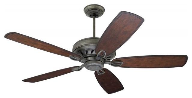 Brushed Steel Ceiling Fan