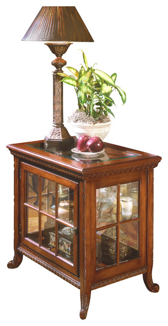Butler Chopin Plantation Cherry Side Chair Curio Traditional Side Tables And End Tables By