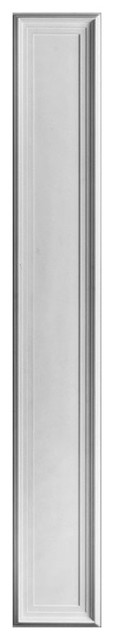 "Orac Decor Plain Polyurethane Pilaster, Height: 78-3/4""."