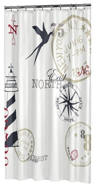 Naval Shower Curtain