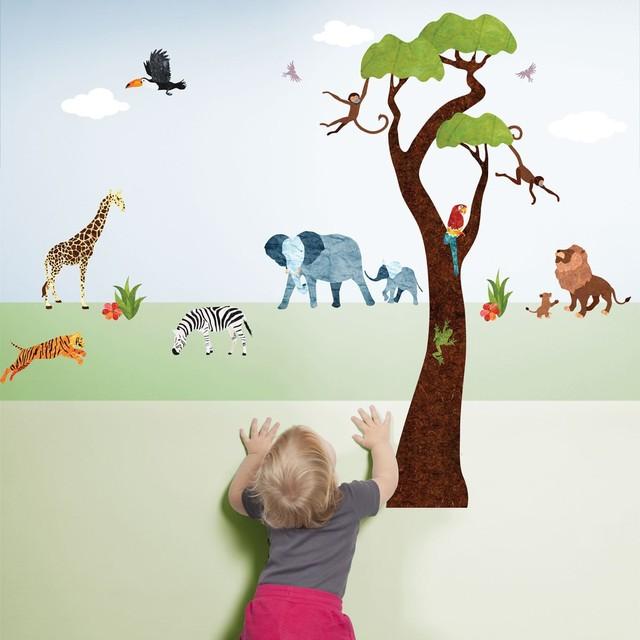 34d468629e89 Jungle Safari Wall Decals