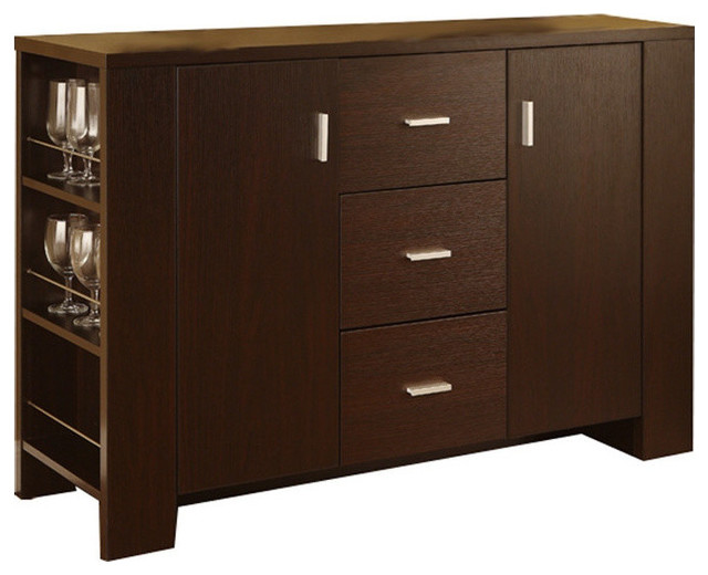 Antony Contemporary Dining Buffet Cappuccino Buffets And Sideboards By H