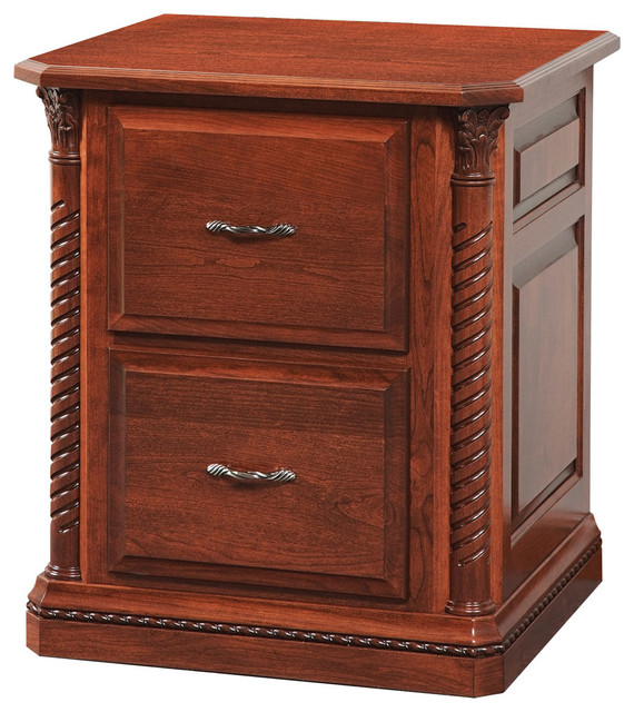 Lexington Office Two Drawer File - Traditional - Filing ...