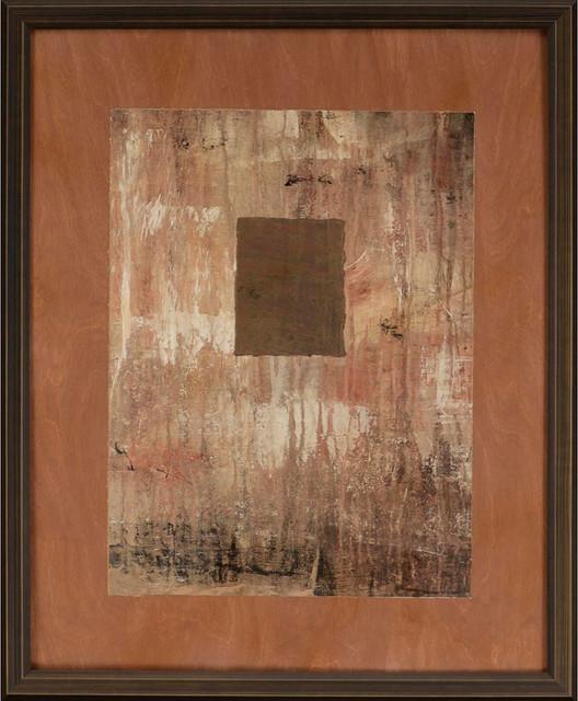 """Point Bluff Ii Framed Art, 29""""x35""""."""