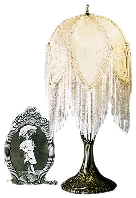 Meyda Lighting 18423 22 Quot H Victorian Tulip Fabric Accent