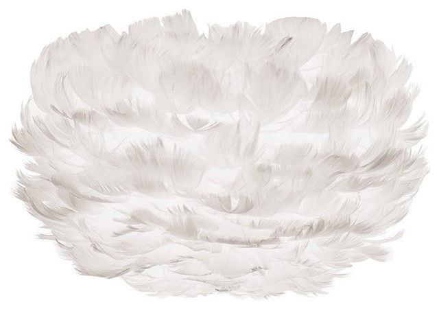 Eos Feather Shade, White, Micro